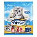 [寵樂子]《日本Unicharm嬌聯》消臭香味紙砂 (肥皂香) - 5L / 環保貓砂可沖馬桶