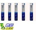 [7東京直購] OMRON SB-172-5P (SB-072新款, HT-B307 B305 B306 適用) 音波式電動牙刷 替換刷頭 5件(10個)