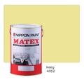 Nippon Paint Matex 4052 (Ivory) 7L