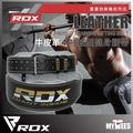【英國首席品牌RDX】牛皮革4吋絨面健身腰帶 TRAINING LIFTING BELT(重量訓練健美專用手套真皮腰帶)