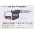 日本三豐Mitutoyo 293-831 數位式外徑分厘卡 數位式外徑測微器 0-25mm