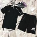 愛迪達短套裝 Adidas短褲+短T 愛迪達男套裝  愛迪達運動套裝男生短褲 運動服套裝 休閒套裝