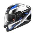 ZEUS 瑞獅 ZS-1600 1600 碳纖維 卡夢 AK4 全罩式 雙鏡片 安全帽 - 透明碳纖 AK4 藍