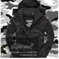 『Es』極度乾燥 Superdry Windcheater 極度限量 黑迷彩 刷毛保暖 風衣 外套