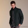 【ROBERTA 諾貝達】禦寒保暖 經典厚舖棉夾克外套(ROE69-98墨綠)