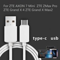USB Type-C data cable Mobile Phone ZTE AXON 7 Mini ZTE ZMax Pro ZTE Grand X 4/Grand X Max2 1m USB