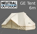 Neutral Outdoor 帳篷 GE Tent 6 NT-TE07 台北山水