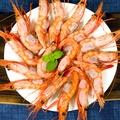 【京天生鮮】北極俄羅斯生凍甜蝦,1kg/黑盒