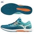 WAVE SONIC 2 一般型女款馬拉松鞋 U1GD193501(水藍X白)【美津濃MIZUNO】