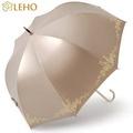 LEHO《悠。時光》法式典雅玻纖直傘(金燦巴黎)