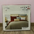 Akemi Queen Size Quilt Cover Bedsheet (Egyptian Cotton) Set
