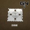 【傑作坊】GNModel 模型工具 刮線刀 塑膠棒刮板 現貨