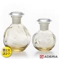 【ADERIA】日本進口圓形玻璃調味罐 80+100ML買兩大送兩小(黃)