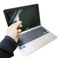 【EZstick】ASUS Vivobook E200HA 系列專用 靜電式筆電液晶螢幕貼(可選鏡面或霧面)