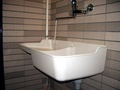 【ST-105涮涮樂】(無附水龍頭組)涮涮樂掛壁式塑鋼洗衣槽工廠直營-陽台水槽可搭配洗衣機用~有量團購工地可專案報價,