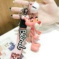 粉紅頑皮豹鑰匙圈