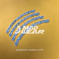 (需預購)speedhunters 高品質輪胎字母貼輪胎字套裝Madwear可清洗