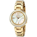 Citizen Eco-Drive Womens EM0334-54D Citizen L Sunrise Analog Display Gold Watch - intl