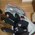 高爾夫球桿 Srixon GIE-l女用鐵桿組七支(6789+P/A/S)附護套背帶,只用過七號與Pw,其它未打開過如新