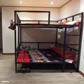 雙層雙人加大床架組 6尺【空間特工】38mm鐵管 輕量化骨架 上下舖  設計款床架 D3F618