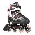 直排輪-成人溜冰鞋兒童全套裝成年直排輪滑冰旱冰男女閃光N17 型男部落