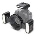 相機專家 Meike 美科 MK-MT24 Canon 微距攝影閃光燈 雙燈 環型閃光燈 近拍 R1C1 公司貨