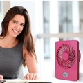 [Global] Mini Portable Laptop Computer PC USB Cooler Cooling Desktop Small Square Fan