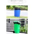 Zx3170#現貨袋子  超大垃圾袋加厚大號黑色酒店物業環衛特大商用家用塑膠袋80x100cm