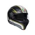 AGV Compact ST Multi Boston Helmet Matt Black Grey Yellow