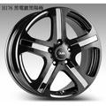 +超鑫輪胎鋁圈+ 【A15】 17吋鋁圈 5孔114 福特 三菱 TOYOTA MAZDA 黑電鍍陽極