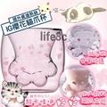 【現貨】粉色+粉色櫻花貓爪杯 雙層玻璃杯 陶瓷杯 馬克杯 咖啡杯 保溫杯 貓抓杯 療癒小物 交換禮物 星巴克