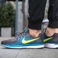 Nike Air Zoom Pegasus 34 男鞋 黑藍黃 慢跑鞋 880555-004