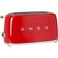 Smeg TSF02RDUS 50s Retro Style 4 Slice Toaster, Red - intl