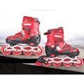 溜冰鞋兒童全套裝成人男女直排輪輪滑鞋旱冰鞋滑冰鞋可調閃光輪N17 型男部落