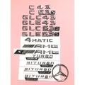 Benz 賓士車標C43 C63s GLC43 GLE43 GLC63s GLE63s字標尾標AMG 4MATIC