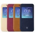 【BASEUS】SAMSUNG Galaxy S7 Edge G935F 簡約皮套