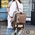 兩用男女胸前包大容量胸包後背包單肩旅行包休閒雙肩-黑/卡其/咖【AAA5766】