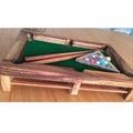 Pool ของเล่นไม้ สนุ๊กเกอร์ Fancy Billiard game (มีราง)