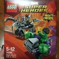 76066 樂高 Lego 小車 浩克vs奧創 mighty micros