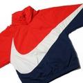 Nike  衝鋒衣 紅藍配色S號最後一件【全新台灣公司貨含吊牌】