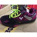 (羽球世家) 勝利SH S80 SD Q 速度型 羽球鞋 非洲斑馬條紋 桃紅 27號、28號 Victor