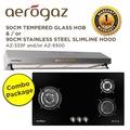*Combo Package* Aerogaz Hob 90cm AZ-333F and/or Aerogaz Slim Lux Hood 90cm AZ-9300