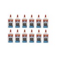 Elmer's Liquid School Glue, Clear, Washable, 266ml each , 12 packs