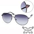 Anna Sui 安娜蘇 明星款晶鑽飛官造型墨鏡 AS805001