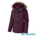 Columbia哥倫比亞-兩件式防水保暖外套-女用(暗紅/UWK70130WE)