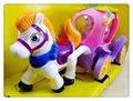 電動聲光馬車玩具 奇妙馬車【送電池🔋】