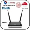 D-Link DWR-711 2-in-One 3G /Wireless Router /Singapore Seller/3Yrs Warranty/Standard Sim Card Slot