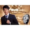 【王力宏廣告款】SEIKO精工 Premier 萬年曆時尚腕錶(銀/43mm) SNP139J1/7D56-0AE0S