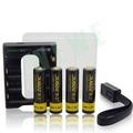 電池殺手 1.5V充電3號鋰電池 1卡+充電器 1顆可抵2000顆鹼性電池 有效降低電池用量