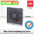 KDK Wall Mounted Filter Series Ventilating Fan 25cm 25AUFA (For Home Use) * Without INSTALLATION*